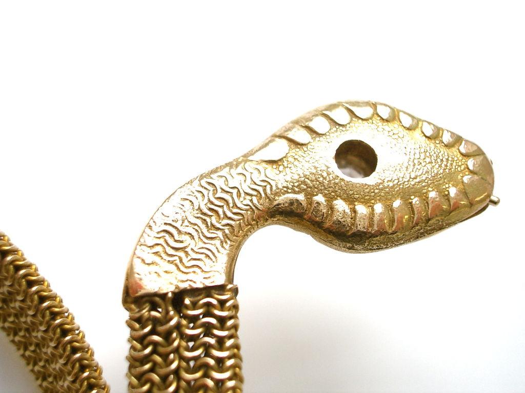 Gold And Diamond Snake Bracelet Kimberly Klosterman