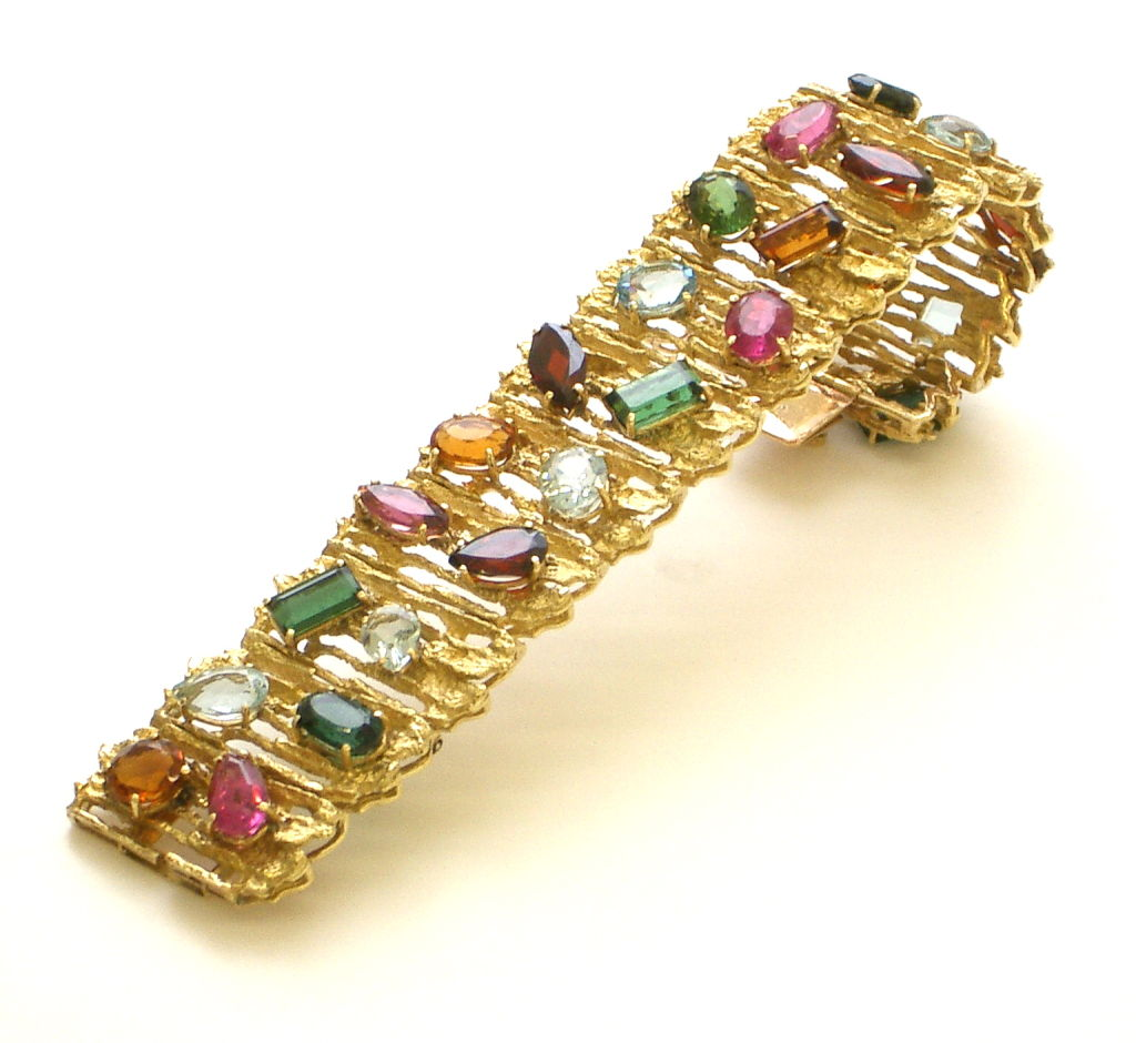 multi zoom jewelry bracelet effy gemstone gold sterling tcw balissima silver