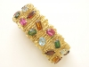 Gold-and-Multi-colored-Stone-Bracelet-by-H.-Stern-2
