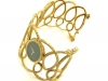 PIAGET 18k Gold and Nephrite Watch, circa 1970-7