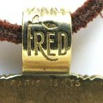 FRED of PARIS, A Gold Scorpion Pendant, c 1970-3