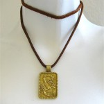 FRED of PARIS, A Gold Scorpion Pendant, c 1970-4