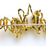 GILBERT ALBERT, A Gold Brooch-3
