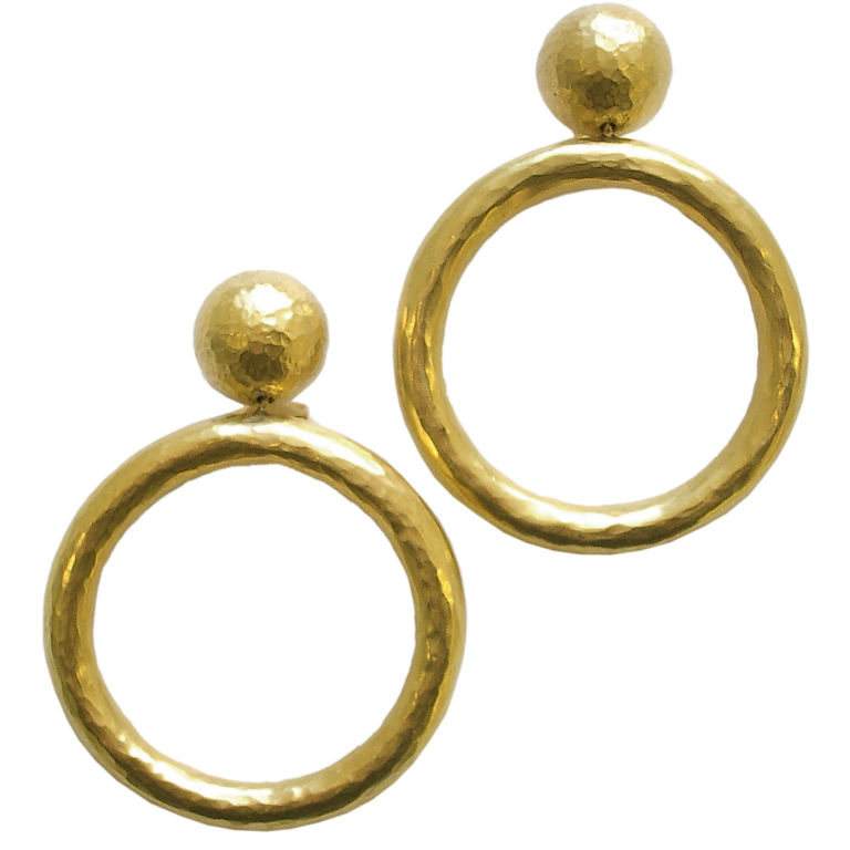 Gold Hoop Earrings By Paloma Pico For Tiffany Italy 1989 1
